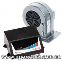 Автоматика для твердотопливного котла Kg Elektronik: SP-05 LED и DP-02