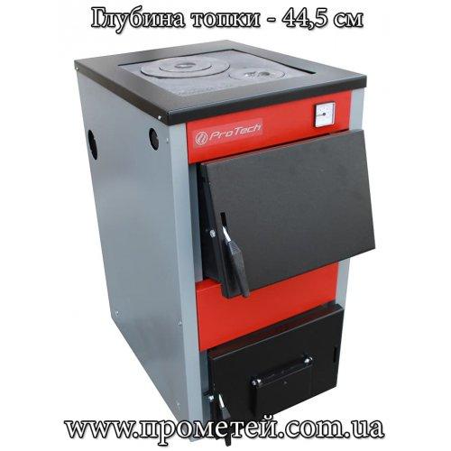 Твердотопливный котел Protech ТТП 15 D Luxe