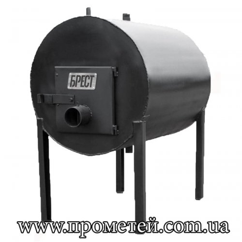 Дровяная печь ЭкоЖар КВД 500 (с водным контуром)